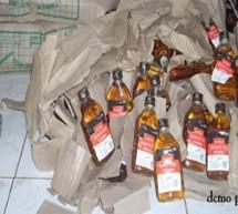 لاکھوں کی شراب برآمد ،ایک اسمگلر گرفتار