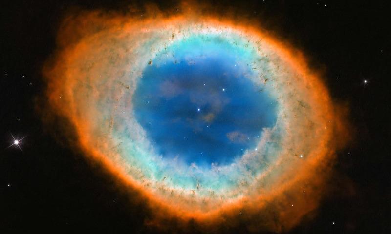 سائنس کا اڈہ: سورج کا رنگ برنگی انجام