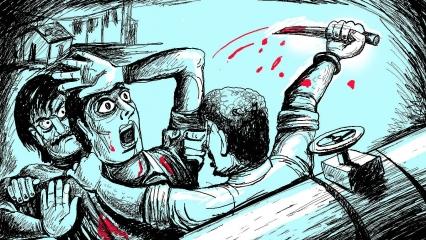 نوئیڈا میں بزرگ جوڑے کا قتل