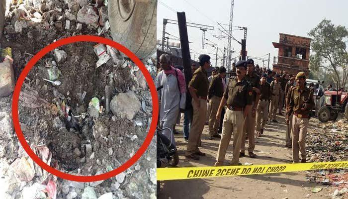 آگرہ کینٹ ریلوے اسٹیشن کے قریب دو دھماکے، کل ہی ملی تھی ٹریک اڑانے کی دھمکی