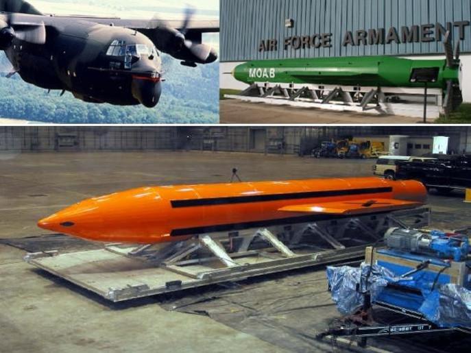 امریکا نے افغانستان میں داعش پر245 من وزنی'' بموں کی ماں'' گرادی