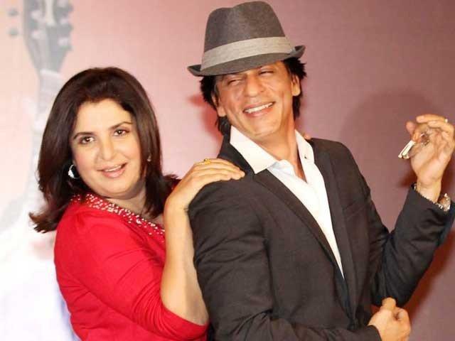 فرح خان کو اپنی فلموں کے لیے شاہ رخ کا انتظار