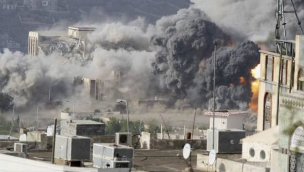 یمن پر سعودی عرب نے پھر کی بمباری، 8 افراد شہید متعدد زخمی، 6 کی حالت تشویشناک