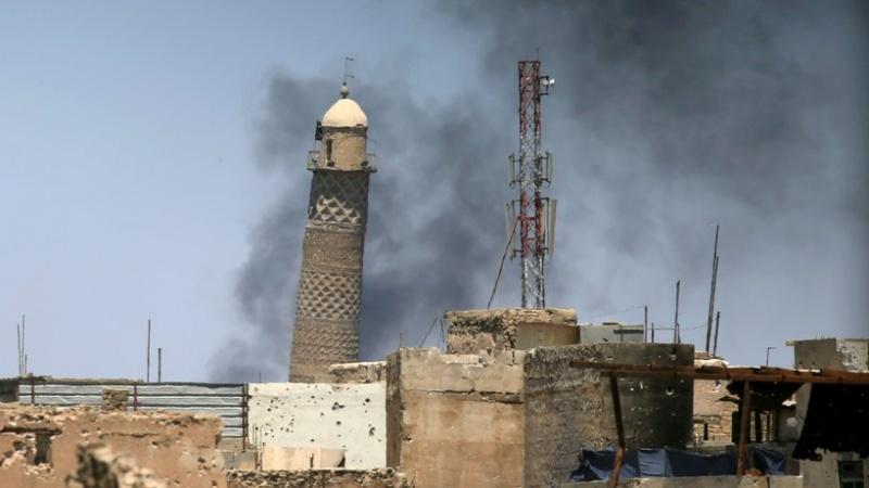 داعش نے آٹھ سو سال قدیم تاریخی مسجد کو دھماکے سے اڑادیا