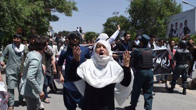 کابل: جنازے میں 'تین دھماکے'، آٹھ جاں بحق، 29 افراد زخمی