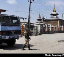 سری نگر میں سخت ترین بندشوں سے 'یو این مارچ' ناکام، جامع مسجد میں لگاتار پانچویں مرتبہ نماز جمعہ ادا نہ کی جاسکی