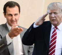 ٹرمپ نے اسد مخالف باغیوں کی اسلحہ سے مدد بند کی