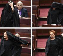 برقع پہن کر پارلیمنٹ آنے والی آسٹریلوی سینیٹر پر تنقید