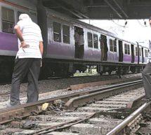 ممبئی میں ریلوے پٹری پارکرنے میں 12کی موت ،13زخمی