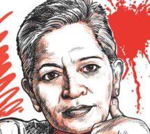 گوری لنکیش قتل معاملہ۔مشتبہ افراد کے خاکے اور ویڈوزجاری