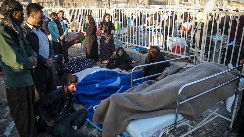 ایران میں زلزلے سے مرنے والوں کی تعداد 550 تک پہنچی، بچاؤ کام مکمل