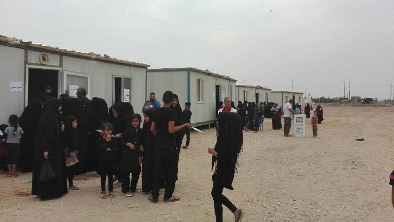 عراقی عوام نے کوت شہر میں ایران کی جانب سے فیلڈ ہاسپٹل کے قیام کا خیر مقدم کیا