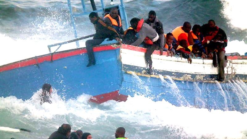 بحیرہ روم میں کشتی ڈوبنے سے23 مسافر جاں بحق، 64 افراد کو ڈوبنے سے بچایا گیا