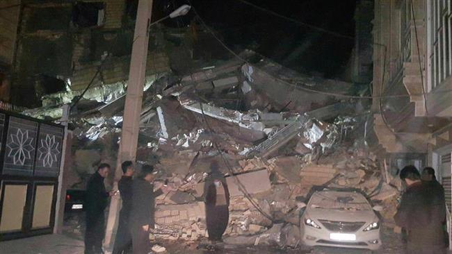 Iran : किरमानशाह और कुर्दिस्तान  भूकंप में मरने वालों की संख्या 129 - घायलों की संख्या 700 से अधिक
