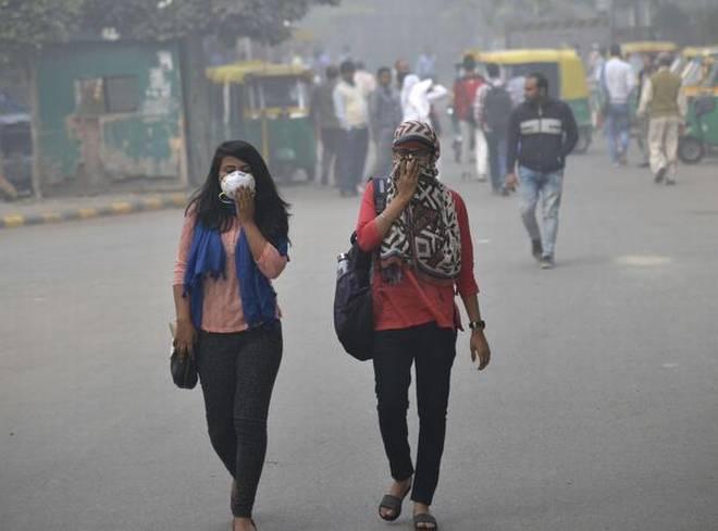 دہلی میں فضائی آلودگی ' انتہائی خراب' زمرے میں