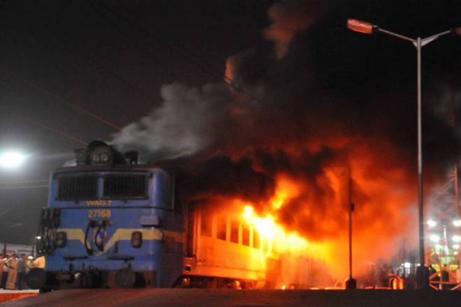 سی پی ایم ماؤنوازوں نے ریلوے اسٹیشن کے آلات میں آگ لگائی