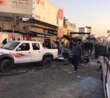 عراقی دارالحکومت بغداد میں دو بم دھماکے، 38 افراد جاں بحق