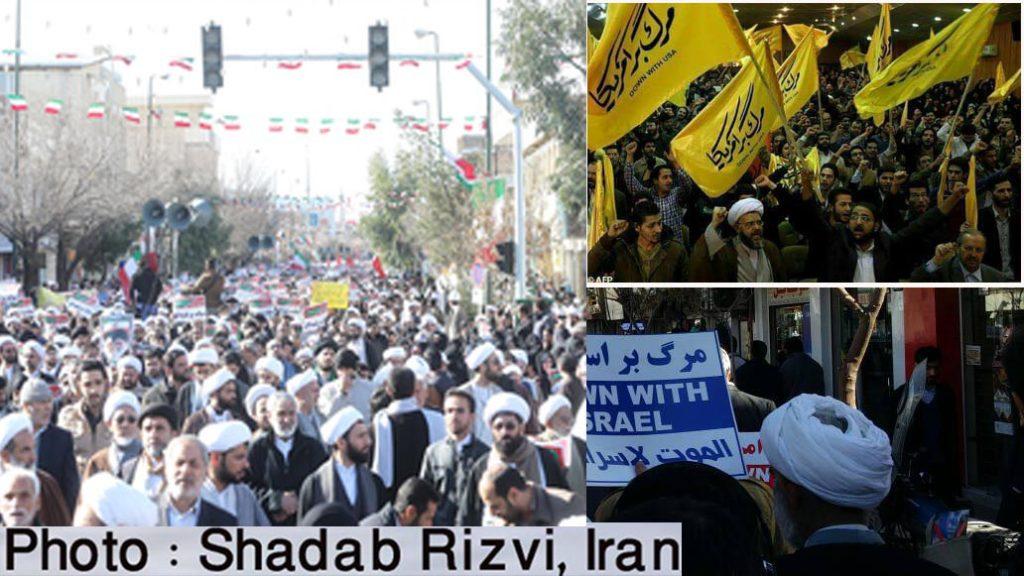 ایران میں پر امن مظاہرے، عوام نے اسلامی نظام اور ولی فقیہ سے اپنی بھرپور وفاداری کا کیا اعلان