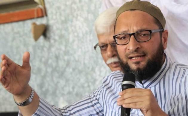 ممبئی میں ریلی سے خطاب کرنے کے دوران اسد الدین اویسی پر پھینکا جوتا
