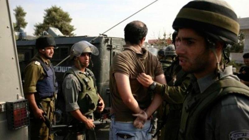 بیت المقدس اور غرب اردن سے متعدد فلسطینی گرفتار