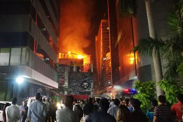 ممبئی کی میمون عمارت میں آگ، 4 افراد ہلاک، 7 زخمی