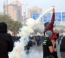 بحرین میں مظاہرین پر آل خلیفہ حکومت کا ایک بار پھر تشدد