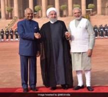 ہندستان اور ایران نے 9 معاہدوں پر دستخط کئے ، دہشت گردانہ طاقتوں کو روکنے کے عزم کا اظہار