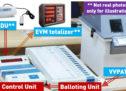 ضمنی انتخابات میں دونوں سیٹوں کے تمام بوتھوں پر وی وی پیٹ لگایا جائے گا : کمیشن