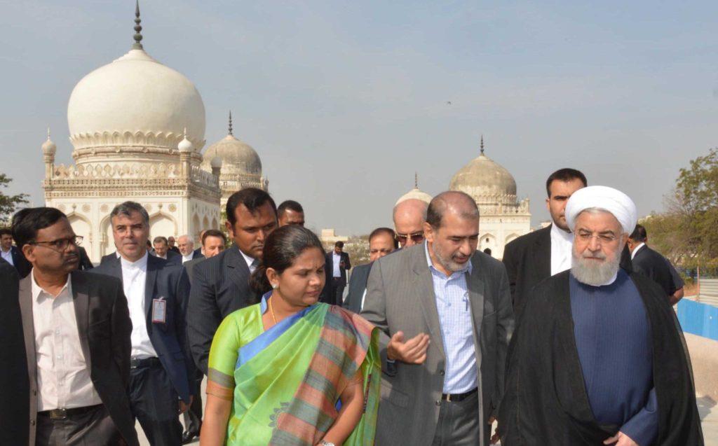 राष्ट्रपति रूहानी का भारत में दूसरा दिन, दुशमनों के ख़िलाफ़ इस्लामी जगत की एकता को बताया मूलमंत्र