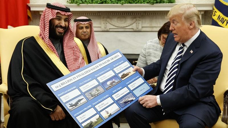 امریکہ نے سعودی عرب کو ایک ارب ڈالر کے اسلحے کی فروخت کرنے کی منظوری دی