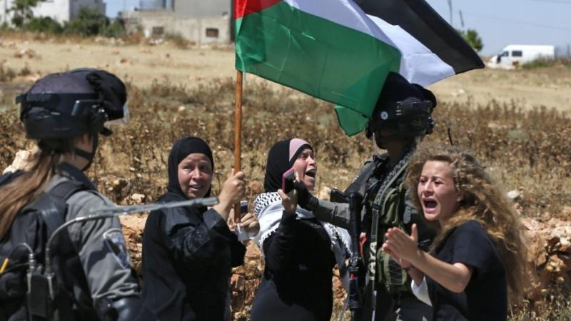 اسرائیلی فوجی کو تھپڑ مارنے کی سزا 8 ماہ قید