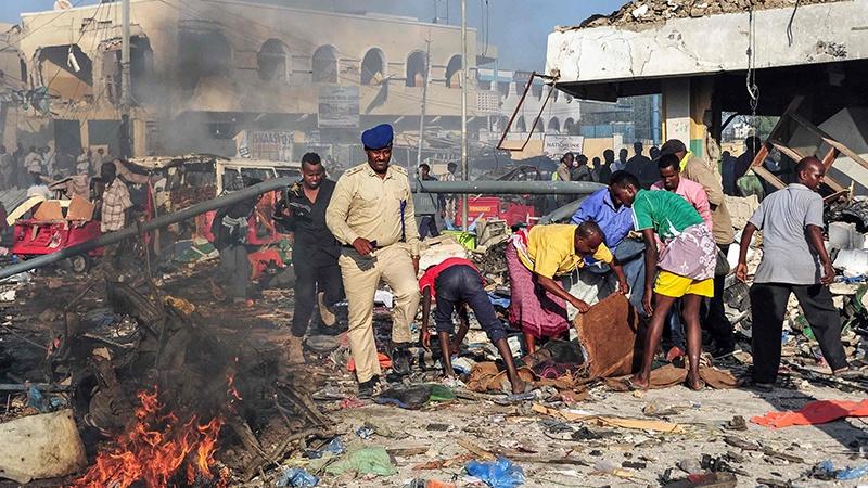 صومالیہ میں کار بم دھماکہ، 16افراد جاں بحق، متعدد زخمی