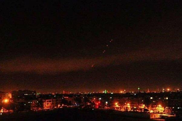 امریکہ نے شام پر 100 سے 120 میزائل فائر کئے ہیں