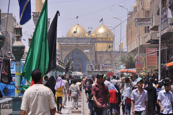 بغداد:حضرت امام موسی کاظم (ع) کے زائرین پر دہشت گردانہ حملہ ناکام