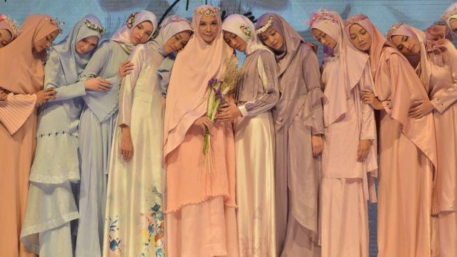 مسلم فیشن فیسٹیول، اسلامی روایت کا خوبصورت حجاب