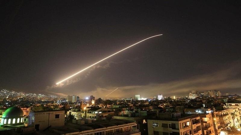امریکہ کی بربریت جاری، شام پر 110 سے لیکر 120 میزائل فائر کئے