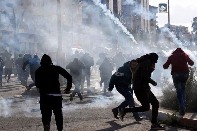 اسرائیلی فورسیز نے نہتے فلسطینیوں پر کی فائرنگ، آٹھ شہید، سینکڑوں زخمی