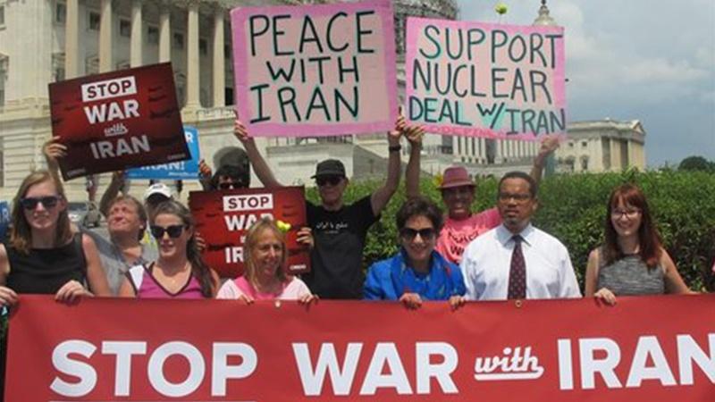 امن کے حامی امریکیوں کی ایرانی عوام سے معذرت خواہی