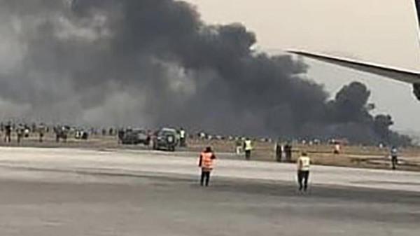 کیوبا کا مسافر جہاز اڑان بھرنے کے ساتھ ہی گر کر تباہ، 100 مسافر ہلاک