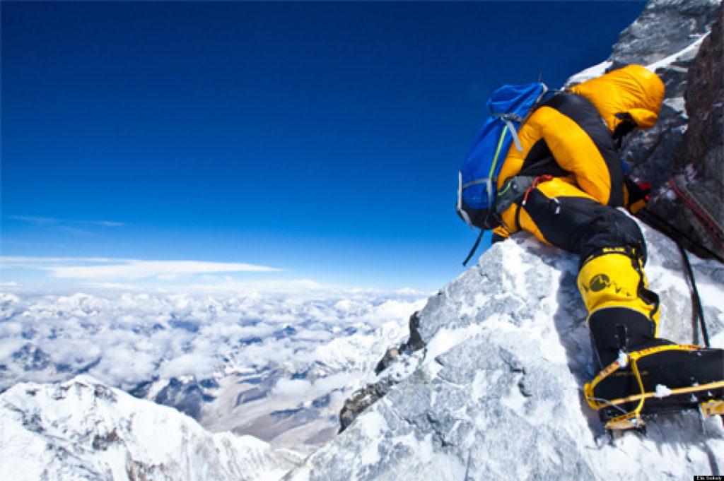 'میں درد اور اس پہاڑ کی دشواری کو محسوس کر سکتا ہوں'