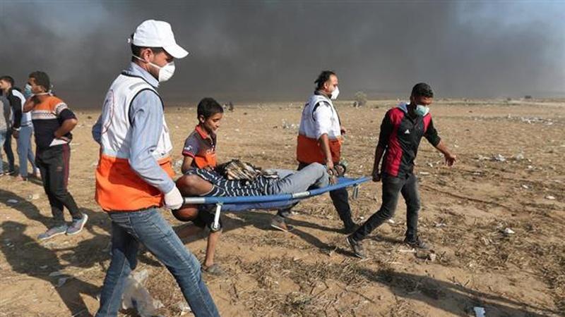 اسرائیل کی جارحیت اور بربریت 120فلسطینی شہید