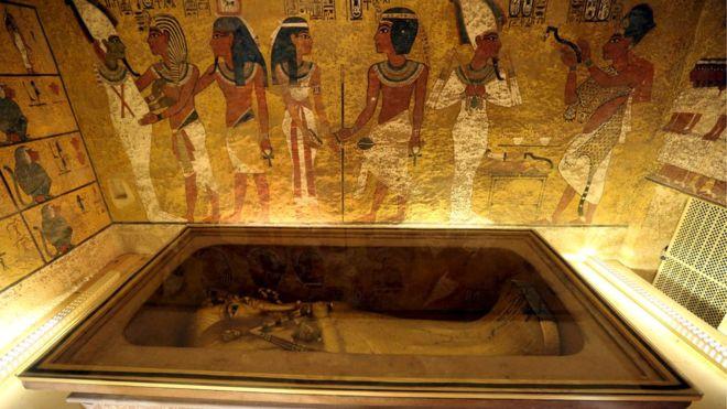 'طوطن خامن کے مقبرے میں کوئی خفیہ کمرہ نہیں ہے'