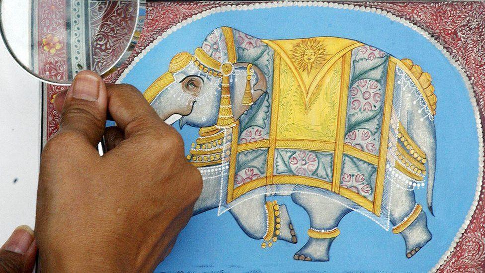 عالم اسلام میں فن نقاشی