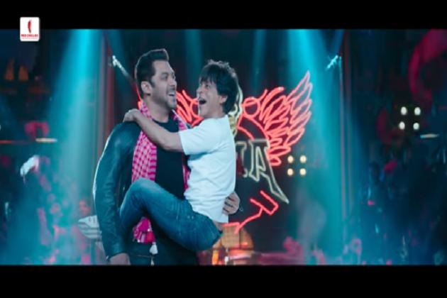 زیرو فلم کا ٹیزر ہوا رلیز، بونے شاہ رخ خان کو گود میں اٹھا کر خوب ناچے سلمان خان