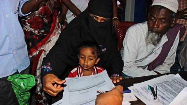 آسام کے 40 لاکھ باشندے انڈین شہریت کی فہرست سے خارج