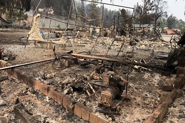 کیلیفورنیا میں آگ: چھ ہلاک، 38ہزار افراد گھر بار چھوڑنے پر ہوئے مجبور