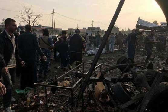 عراقی شہر کرکوک دھماکوں سے لرز اٹھا، 21 افراد جاں بحق متعدد زخمی