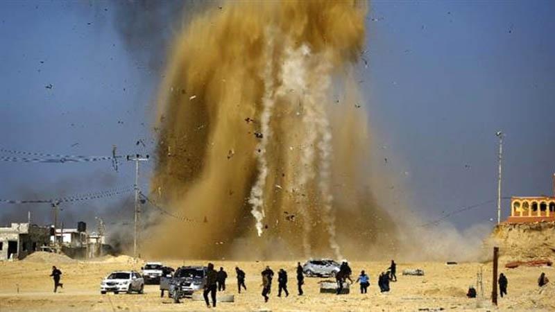 اسرائیل نےغزہ کی مسجد کو نشانہ بنایا