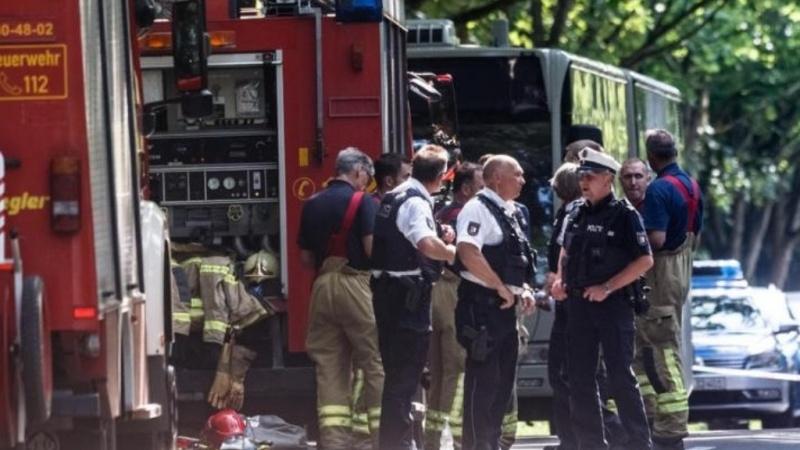جرمنی میں چاقوبردار شخص کا حملہ، 14 افراد زخمی