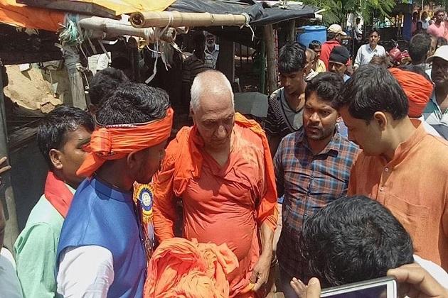 جھارکھنڈ: پاکوڑمیں سوامی اگنی ویش پرحملہ، بی جے پی کارکنان پرحملہ کرنے کا الزام